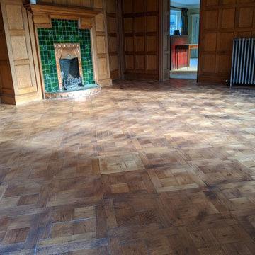 Restore the floor
