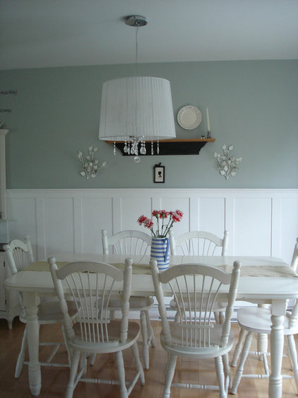 eclectic dining room by Restyled Home