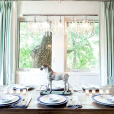 Contemporary Dining Room by Stacy Paulson Design