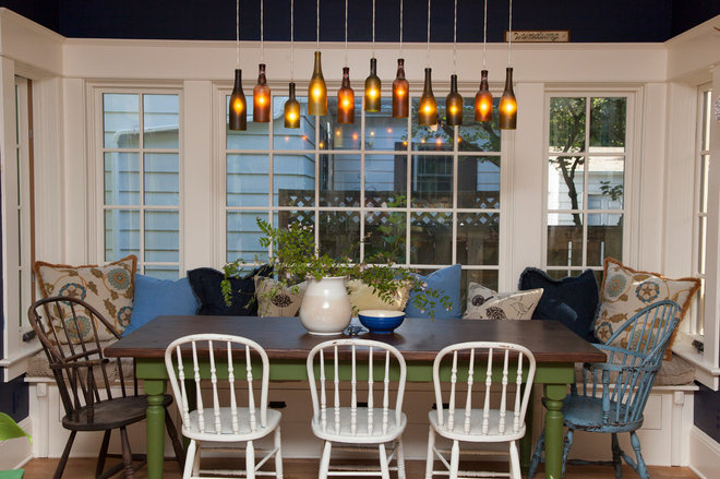 Eclectic Dining Room by Whitney Lyons