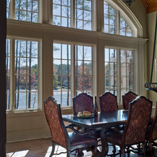 Traditional Dining Room by Duke Development
