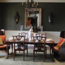 Eclectic Dining Room rgauntlett