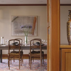 Eclectic Dining Room Rhodes Architecture + Light