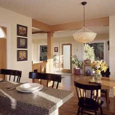 Contemporary Dining Room Rhodes Architecture + Light, Seattle Architect