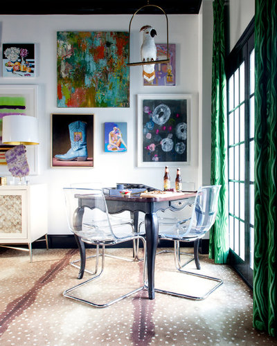 Eclectic Dining Room by Holly Phillips @ The English Room