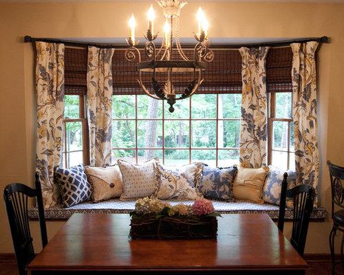 Curtains Ideas curtain rod for bay windows : Bay Window Curtain Rod Ideas, Pictures, Remodel and Decor