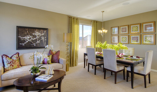 Contemporary Dining Room by Richmond American Homes - Tucson