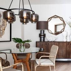 Contemporary Dining Room by Alexander Pollock Interiors