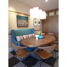Contemporary Dining Room by Moroso Construction