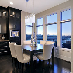 modern dining room by Jordan Lotoski