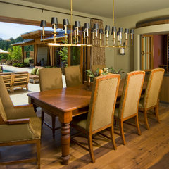 contemporary dining room by JMA (Jim Murphy and Associates)