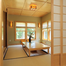 Asian Dining Room by Kuhn Riddle Architects
