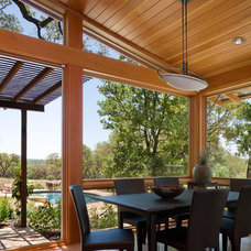 Contemporary Dining Room by Craig McMahon Architects, Inc.