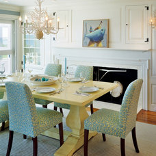 Beach Style Dining Room by Polhemus Savery DaSilva