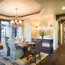 Traditional Dining Room by BC Custom Construction