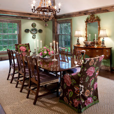 Traditional Dining Room by Peabody's Interiors