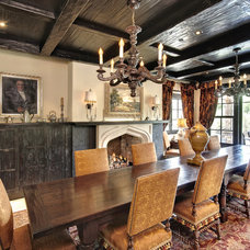 Traditional Dining Room by Gunson Custom Mountain Architects