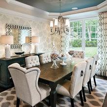 Janice Horne Dining Room Drapery