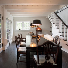 contemporary dining room by Sullivan Building & Design Group