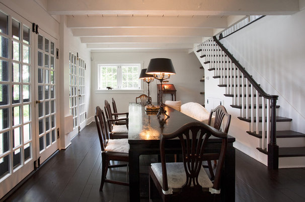 Rustic Dining Room by Sullivan Building & Design Group