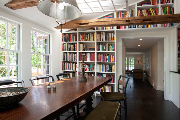 Farmhouse Dining Room by Sullivan Building & Design Group