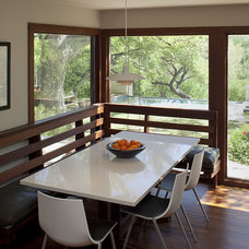 contemporary dining room by Laura Roberts Design