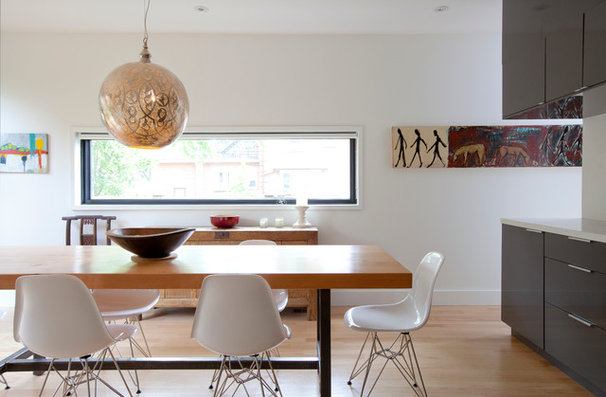 Modern Dining Room by post Architecture