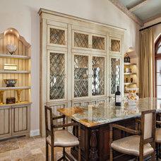 Mediterranean Dining Room by Architectural Photographer Ron Rosenzweig