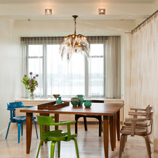Contemporary Dining Room by Rusk Renovations