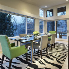 Contemporary Dining Room by Lanthia Hogg Designs