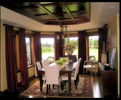 Traditional Dining Room by Sherri Fitzgerald - Ultimate Decor