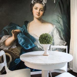 Ispirazione per una sala da pranzo stile shabby