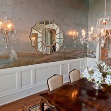 Traditional Dining Room by Upland Development, Inc.
