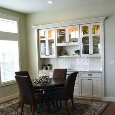 traditional dining room Rivervine Design in Eagle, Idaho