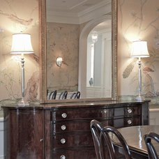 Traditional Dining Room by Giannetti Home