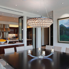 Contemporary Dining Room by Charlotte Dunagan Design Group