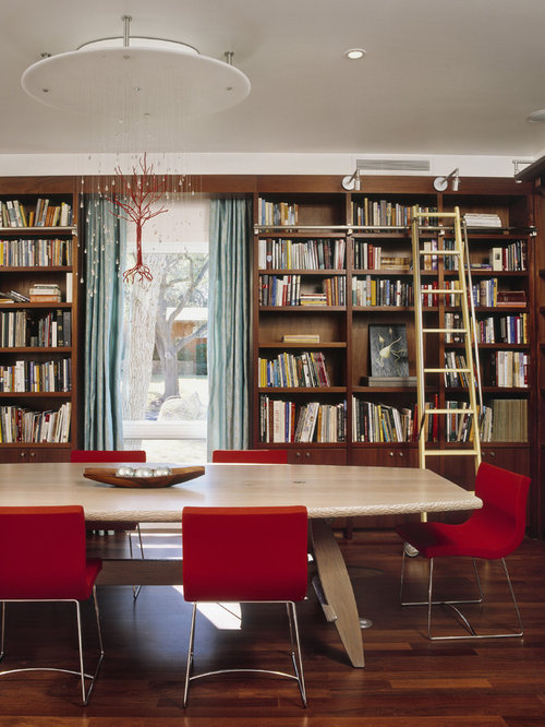 Library Dining Room Houzz