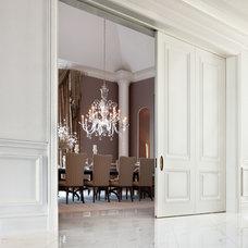 Modern Dining Room by Robert J Erdmann Design, LLC