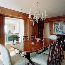 Traditional Dining Room by Robert Wilkanowski Architect, PC