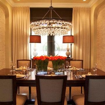 Robeson Design Stunning Dining Room