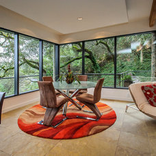 Modern Dining Room by Dennis Mayer, Photographer