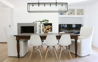 8 Warm and Welcoming Dining Room Tables