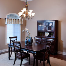 Traditional Dining Room by Decorating Den Interiors - Dianne Wallis