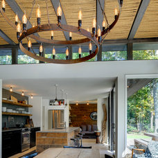 Modern Dining Room by Bates Masi Architects LLC