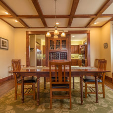 Craftsman Dining Room by 97w