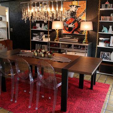 Rock 'N Roll Dining Room