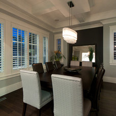 Contemporary Dining Room by Westeck Windows and Doors