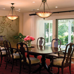 traditional dining room by HartmanBaldwin Design/Build