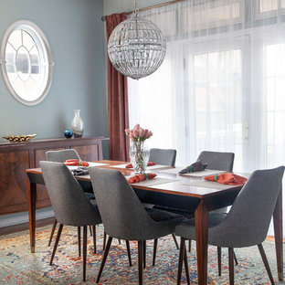 75 Most Popular Dining Room With Blue Walls Design Ideas For 2019