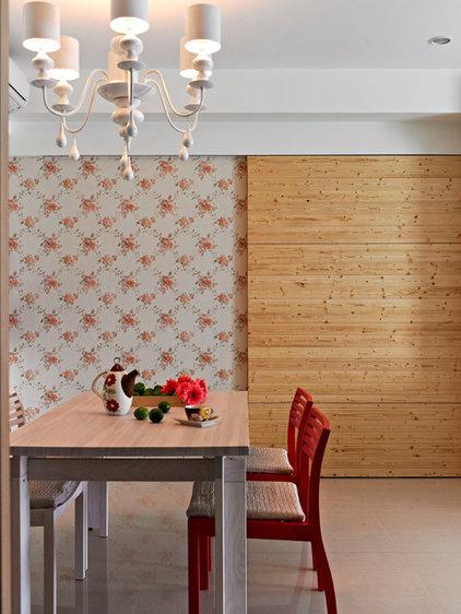 Asian Dining Room by 大衛麥可國際設計工程有限公司